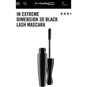 MAC In Exteme Dimension 3D Black Lash Mascara